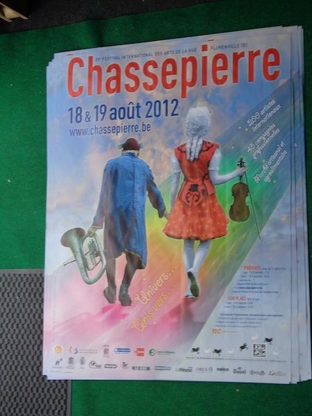 Grande Affiche Fesival des arts de la rue de Chassepierre | Go'Art